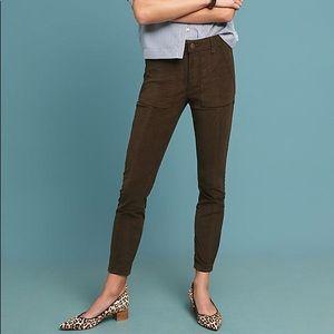 Anthropologie Slim Utility pants
